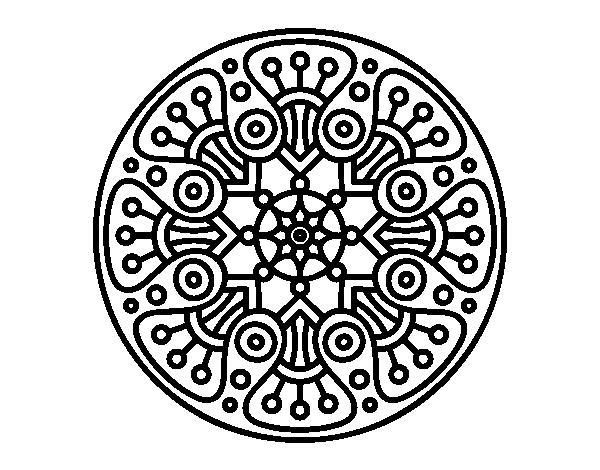 196 Dibujos de Mandalas para Colorear