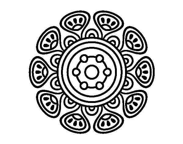 Dibujo De Mandala 11 Para Pintar Y Colorear En Línea: 196 Dibujos De Mandalas Para Colorear Fáciles Y Difíciles