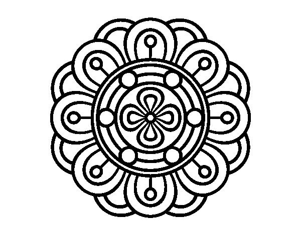 Mandalas Faciles Para Colorear Mandalas Para Colorear Muy: 196 Dibujos De Mandalas Para Colorear Fáciles Y Difíciles
