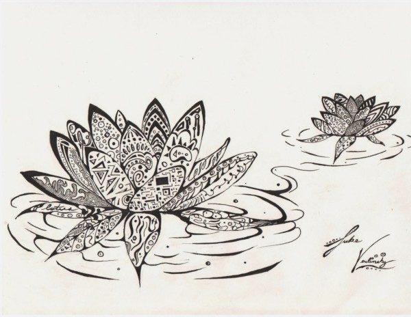 Mandalas Con Flor De Loto: Significado Y Diseños Para