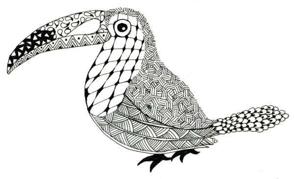 Mandalas Para Colorear Con Animales Y Zentangles: Zentangles Con Animales: Diseños Para Descargar