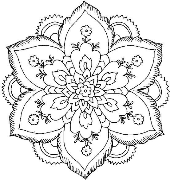 80 Mandalas con flores para colorear Diseos inspiradores  Mandalas
