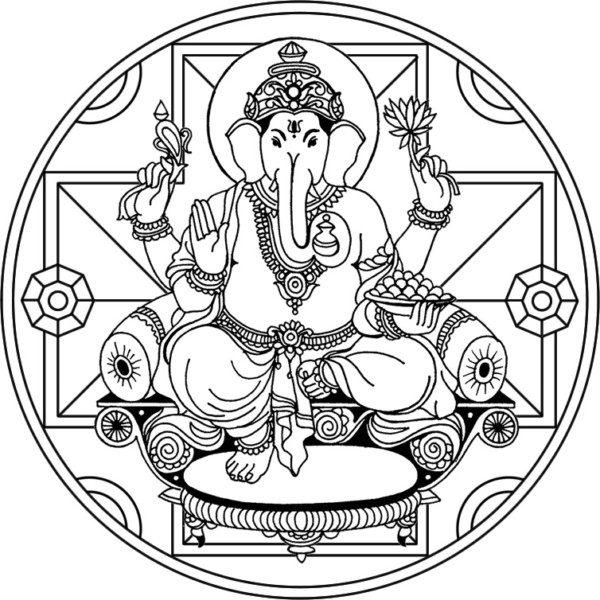 mandalas hind es dise os para descargar y pintar mandalas