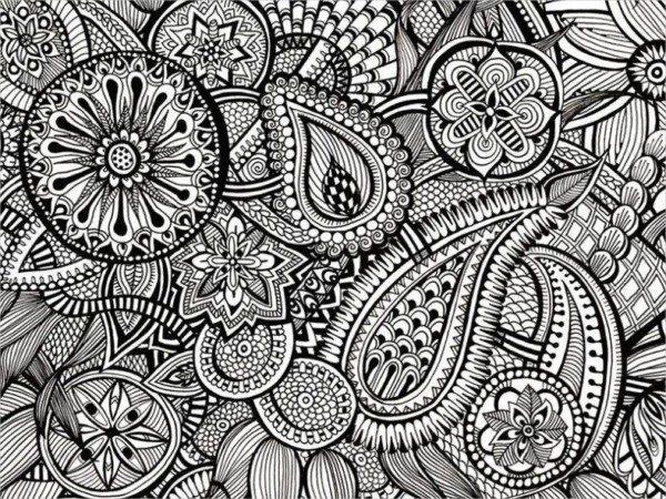 Mandalas Para Colorear Con Animales Y Zentangles: Mandalas Hindúes: Diseños Para Descargar Y Pintar