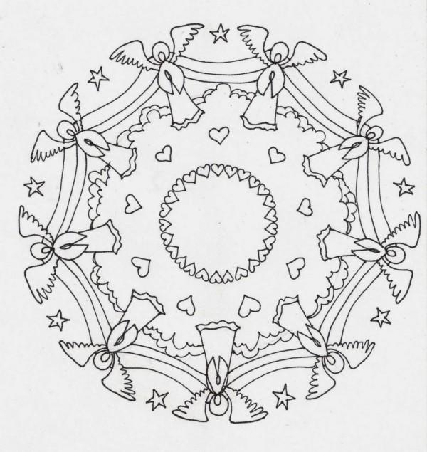 Mandalas Navideños: Diseños para niños y para colorear en ...