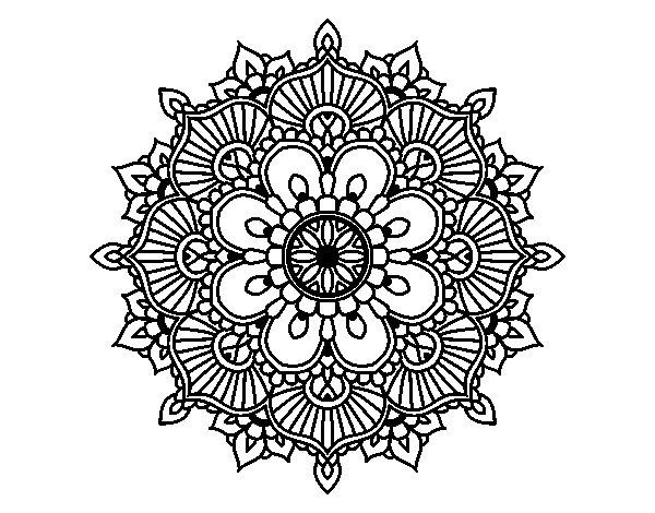 Dibujos Para Imprimir Y Colorear Mandalas: Mandalas Hindúes: 50 Dibujos Para Imprimir Y Colorear