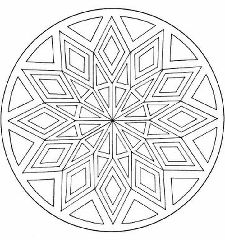 190 Mandalas Para Colorear Para Niños Mandalas