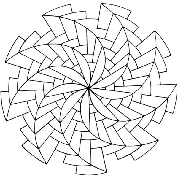 190 Mandalas Para Colorear Para Ni 241 Os Mandalas