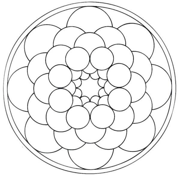 190 Mandalas Para Colorear Para Ninos Mandalas