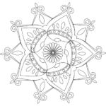 190 Mandalas para Colorear para niños