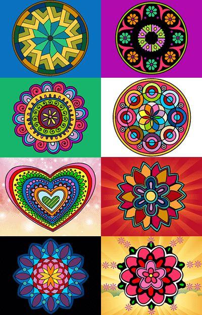 Qu es un mandala significados formas y colores mandalas - Colores para mandalas ...