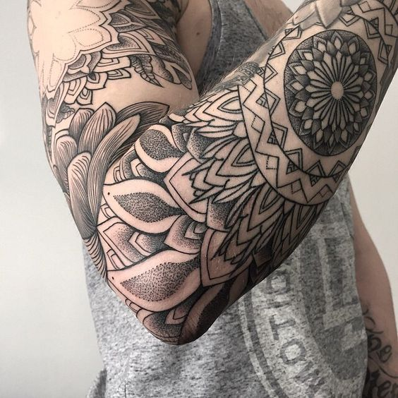 163 Tatuajes De Mandalas Para Mujeres Y Hombres Mandalas
