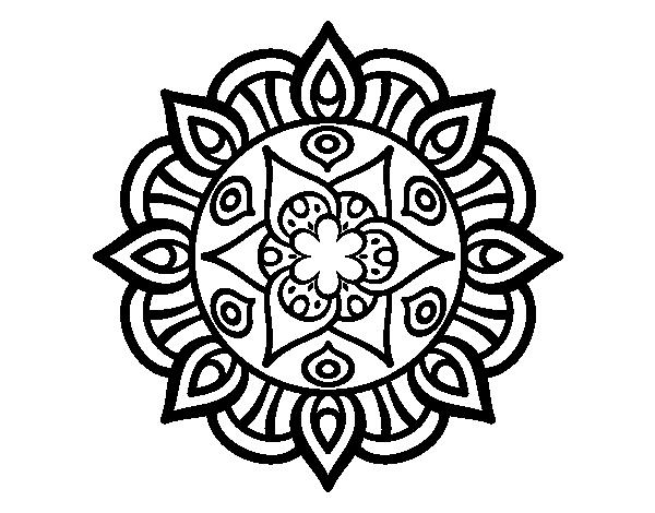 Dibujos De Mandalas Para Colorear Para Ninos: 196 Dibujos De Mandalas Para Colorear Fáciles Y Difíciles
