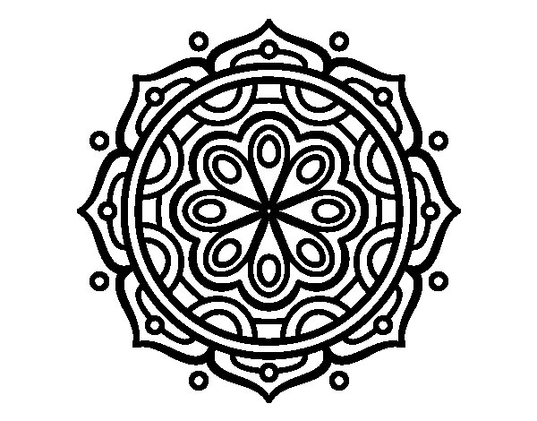 Dibujos Para Imprimir Y Colorear De Mandalas: 196 Dibujos De Mandalas Para Colorear Fáciles Y Difíciles