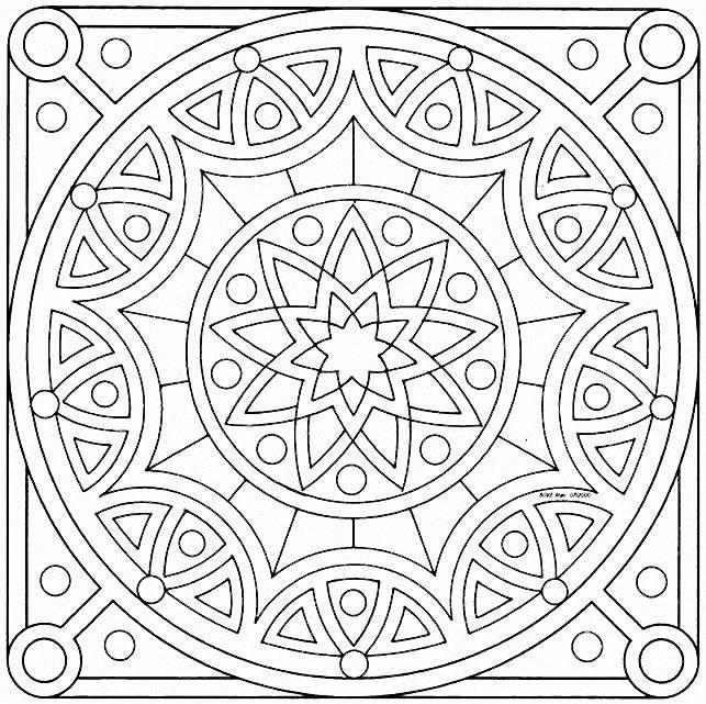 196 Dibujos De Mandalas Para Colorear F 225 Ciles Y Dif 237 Ciles