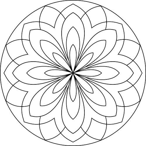 50 Imágenes De Mandalas Para Colorear — WKDS