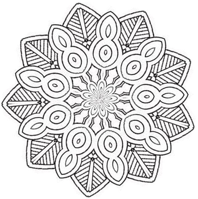 Mandalas Para Dibujar. Mandalas Para Imprimir. Pagina Para Colorear ...