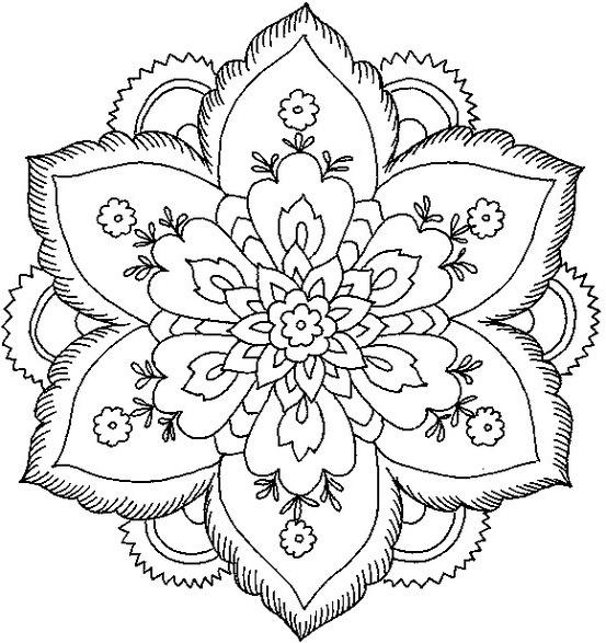 196 Dibujos De Mandalas Para Colorear Faciles Y Dificiles Mandalas
