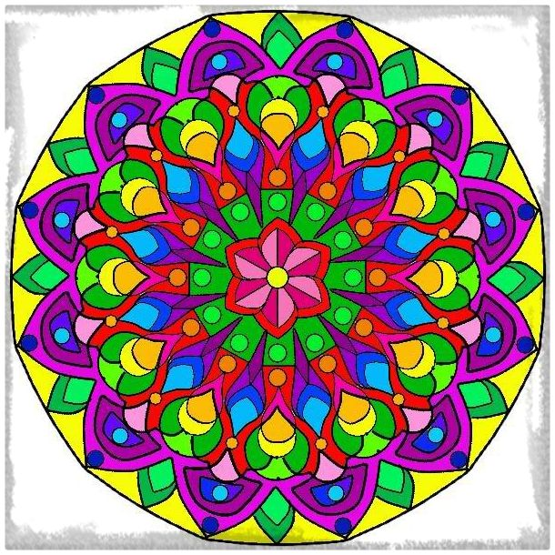 mandalas de colores y su significados mandalas On mandalas coloreadas