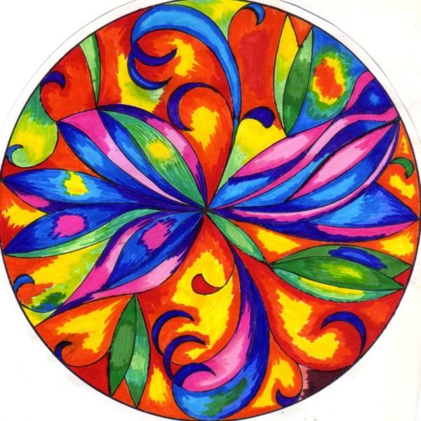 Mandalas de colores y su significados mandalas for Marmol translucido de colores vivos