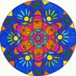 Beneficios de dibujar y colorear mandalas