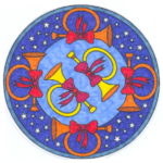 Mandalas Navideños originales para decorar