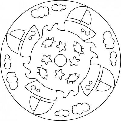 Colorear Mandalas Beneficios Para Los Niños Mandalas