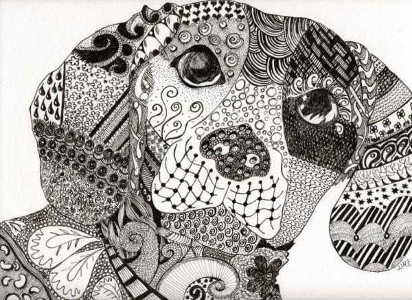Dibujos De Mandalas Para Colorear Relajarse Y Meditar: Zentangle-art Para Meditar Y Relajarse ¿Qué Es?