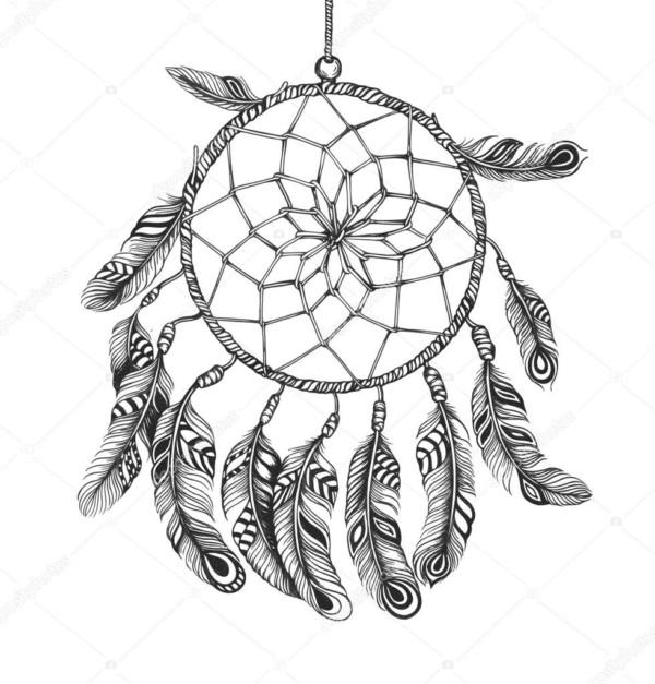 Mandalas Nativos Americanos: Mandalas atrapasueños - Mandalas