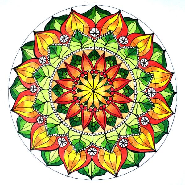 Cmo hacer mandalas geomtricos paso a paso Mandalas