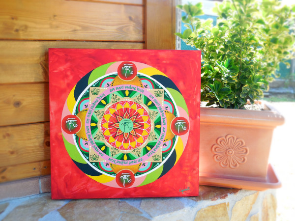 Mandalas Pintados En Tela Como Hacerlos Mandalas