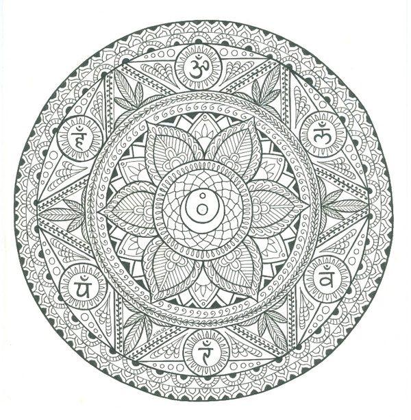 77 Diseños e imágenes de mandalas celtas para descargar y colorear ...
