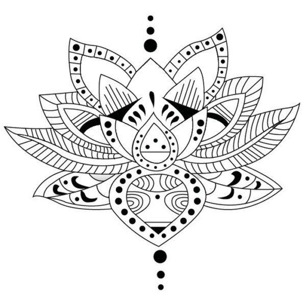 Mandalas con flor de loto significado y dise os para for Ornamental definicion