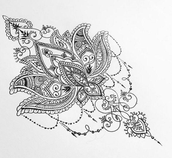 Mandalas Con Flor De Loto Significado Y Diseños Para Descargar
