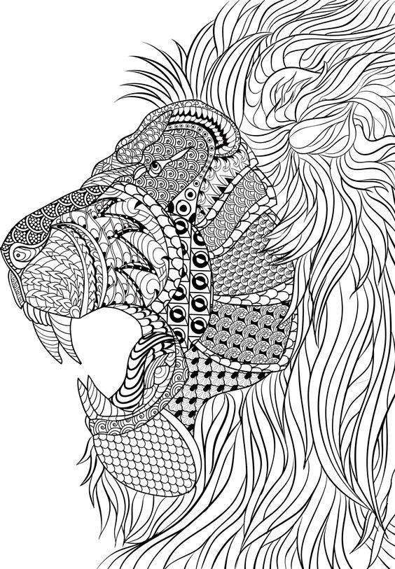 Mandalas Creativos Con Animales