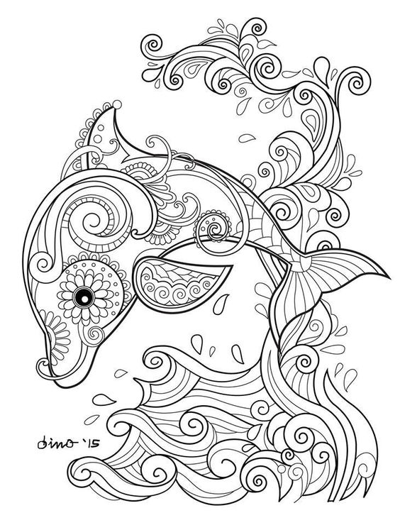 Kleurplaat Volwassenen Dieren Poes Mandalas Creativos Con Animales Mandalas