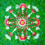 Mandalas con pétalos de flores: Danmalas de Kathy Klein