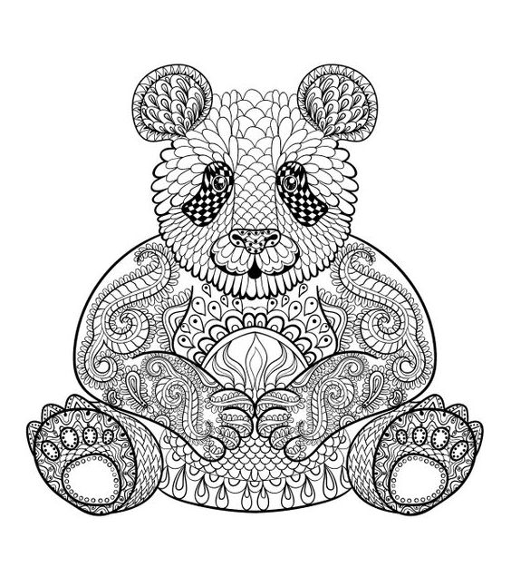 Mandalas Creativos Con Animales Mandalas