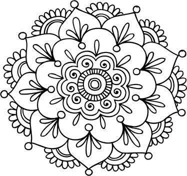 Mandalas con flor de loto: Significado y diseños para descargar ...