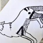 Zentangles con animales: Diseños para descargar