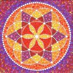 Cómo dibujar un mandala con flor a partir de un hexágono