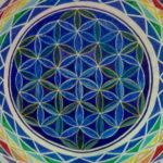 Flor de la vida en mandalas: Esquema de la creación