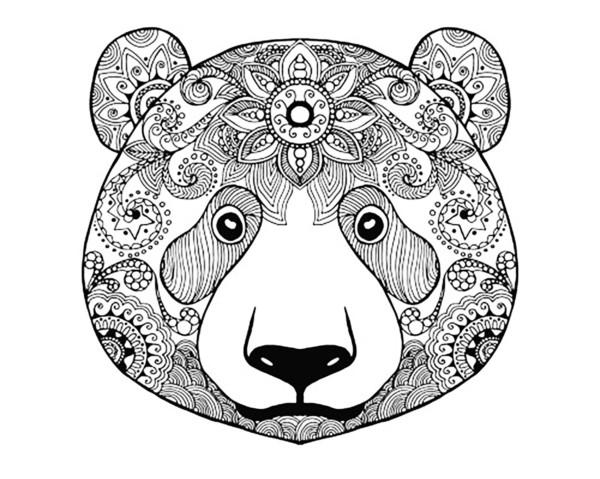 Mandalas Para Colorear Mandalas De Animales: Mandalas Para Colorear Con Animales Y Zentangles