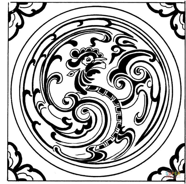 Resultado de imagen para dibujo de tigre con mandala facil t - Mandalas de tigres ...