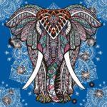 Diseños de Elefantes hindúes en mandalas: Significado y dibujos para descargar