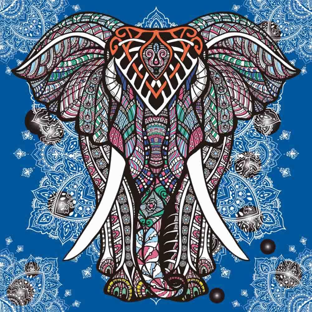 Dise os de elefantes hind es en mandalas significado y for Disenos de mandalas