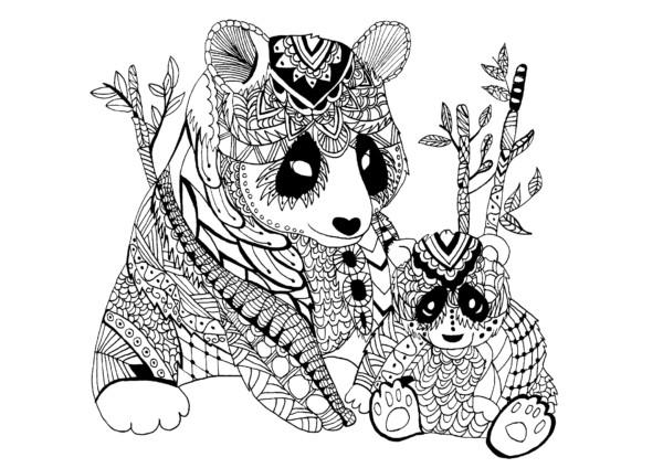 4 Mandalas De Animales Para Colorear: Mandalas Para Colorear Con Animales Y Zentangles