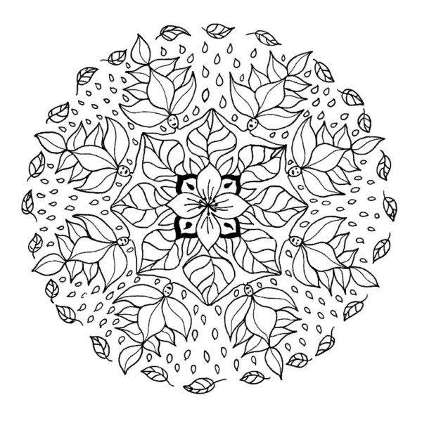 Mandalas hindúes: Diseños para descargar y pintar   Mandalas