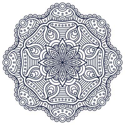 Mandalas hindúes: Diseños para descargar y pintar | Mandalas