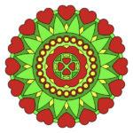 Qué son los Mandalas del amor y como funcionan? Diseños